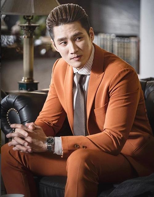Diễn viên Ahn Bo Hyun.