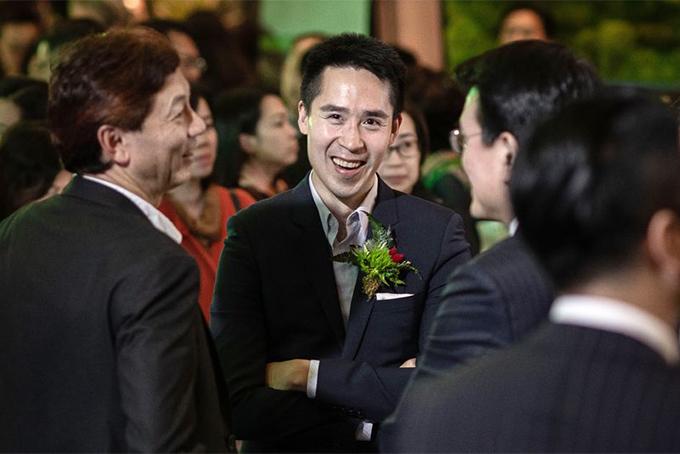 Adam Kwok - con trai cả của cựu chủ tịch Sun Hung Kai Thomas Kwok. Ảnh: Bloomberg.