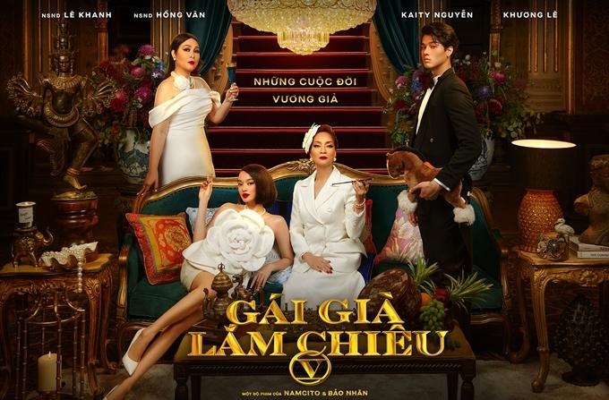 Phần 5 phim Gái già lắm chiêu mang tên Những cuộc đời vương giả, là tác phẩm tiếp theo gia nhập đường đua phim Tết Việt 2021, cùng với Trạng Tí và Lật mặt 5. Bốn diễn viên chính của phim là NSND Lê Khanh, NSND Hồng Vân, Kaity Nguyễn và Khương Lê.