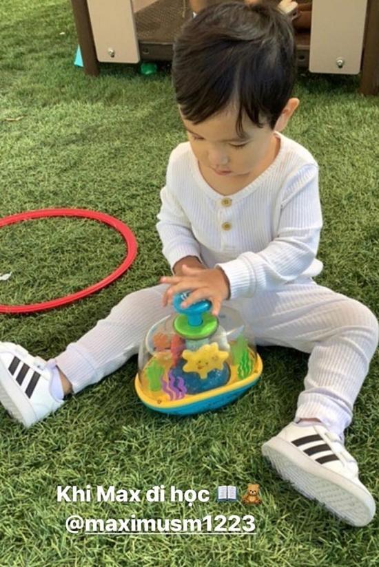 Hoa hậu Hoàn vũ Việt Nam 2015 mong con trai