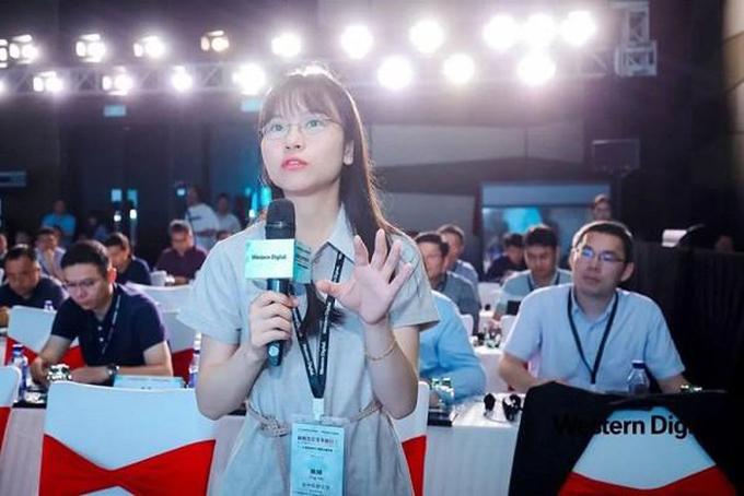 Yao Ting nữ thanh niên thiên tài mới gia nhập đội ngũ nhân viên Huawei. Ảnh: Cntechpost.