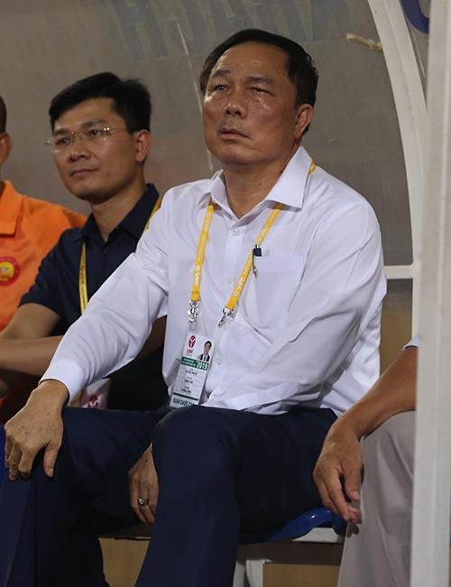Chủ tịch CLB Thanh Hoá Nguyễn Văn Đệ. Ảnh: Đương Phạm.
