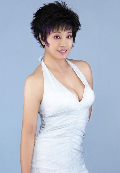 Lưu Hiểu Khánh thời trẻ.