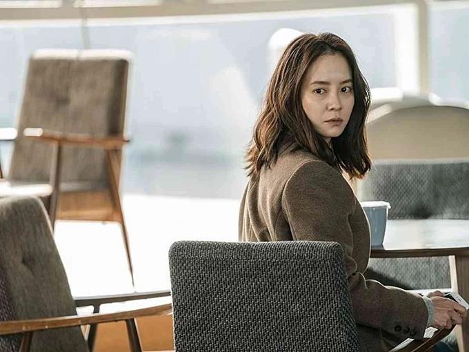 Tạo hình trong phim của Ji Hyo.
