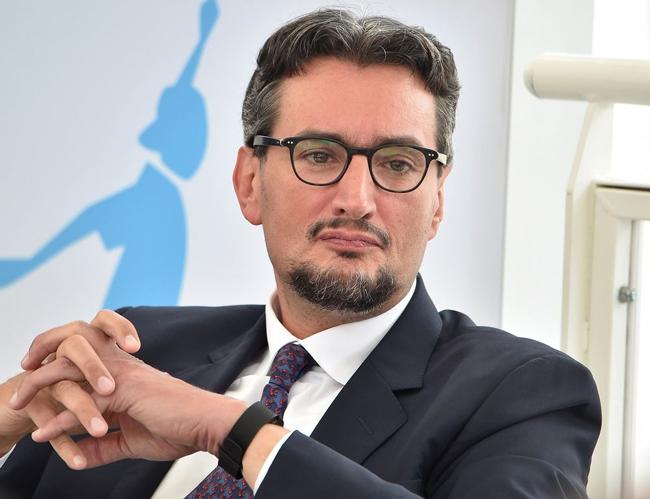 Tỷ phú Giovanni Ferrero - người giàu nhất Italy. Ảnh: Bloomberg.