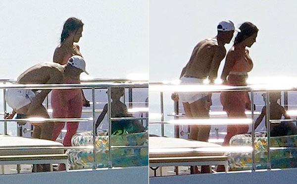 Cặp đôi đều là những người có thân hình săn chắc, khỏe khoắn nhờ chăm chỉ tập gym.