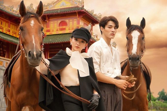 Khương Lê - bạn diễn cặp của Kaity Nguyễn là gương mặt mới được giới thiệu qua Gái già lắm chiêu 5.