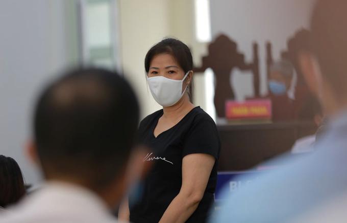 VKS thấy bà Nguyễn Bích Quy đã thành khẩn khai báo hành vi phạm tội của mình tại phiên phúc thẩm nhưng nhận thức pháp luật còn chưa đầy đủ nên đề nghị mức án 21 tháng tù giam. Ảnh: Nguyễn Ngoan.