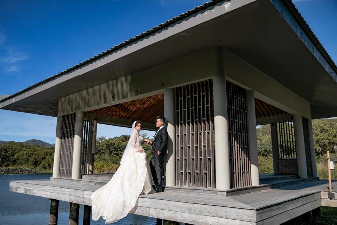 Tấm ảnh cưới đẹp tức là bức ảnh làm toát lên được tình cảm của uyên ương.
