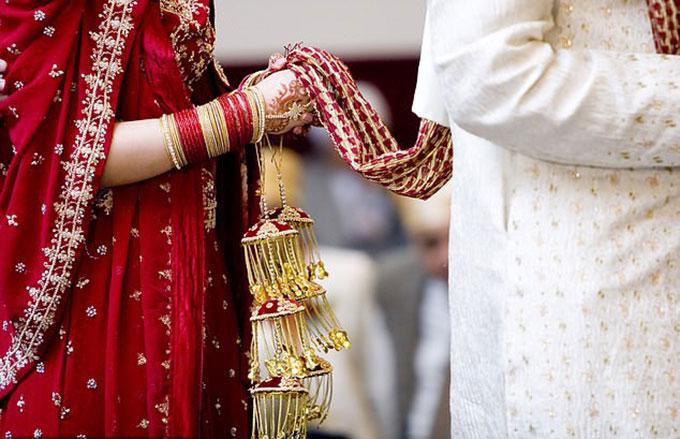 Nghi lễ trong một đám cưới ở Ấn Độ. Ảnh minh hoạ: Cindy Hughes.