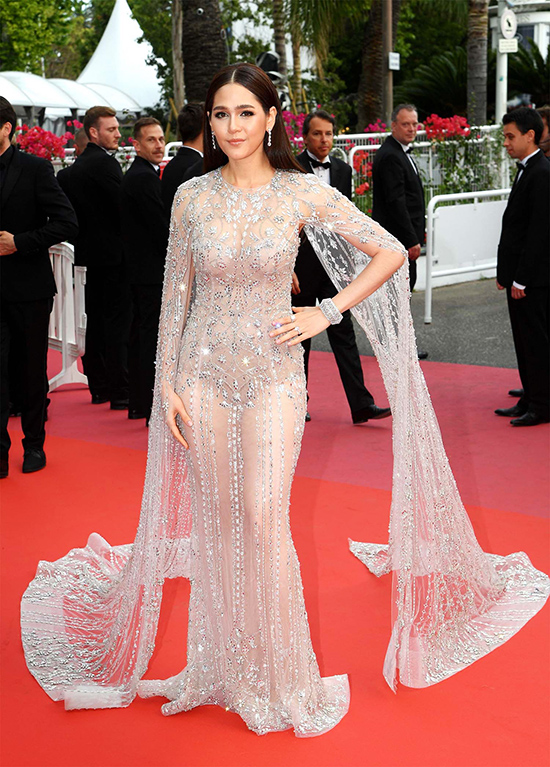 Sorry Angel premiere, Cannes 2018 May 10, in Ralph & Russo