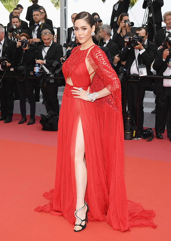 Cannes 2018 May 7, in Zuhair Murad Couture