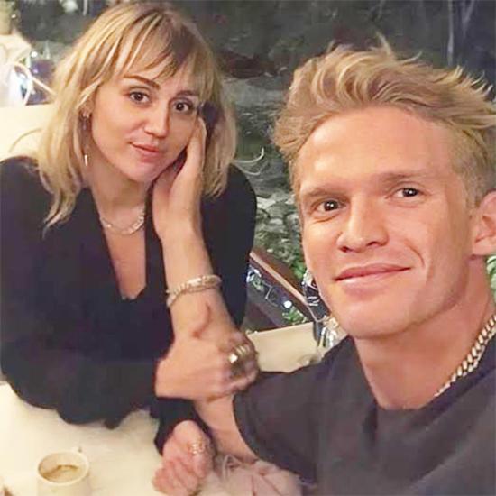 Đến tháng 10, ngôi sao nhạc pop có người yêu mới là nam ca sĩ Cody Simpson. Chuyện tình của Miley với Cody gây bất ngờ bởi trước đó hai người là bạn bè thân thiết và Cody kém Miley tới 5 tuổi. Tuy nhiên cặp sao lại rất hợp nhau và ngày càng gắn bó sâu sắc. Cody chuyển đến sống cùng Miley từ cuối năm ngoái và cách ly tránh dịch với cô suốt nửa năm qua. Ngày 13/8, Miley xác nhận đã chia tay Cody nhưng duy trì tình bạn với nam ca sĩ Australia.