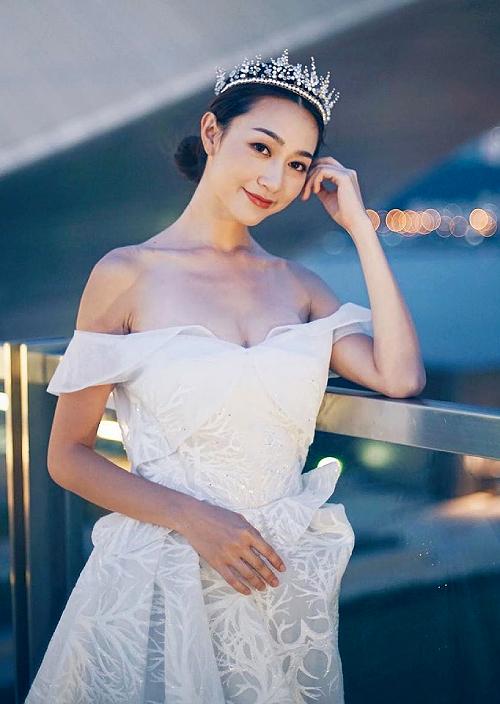 Hoa hậu Hong Kong 2019 Hoàng Gia Văn.
