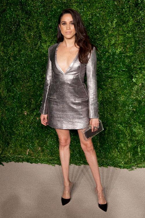 Bức ảnh Meghan dự Lễ trao giải Quỹ thời trang CFDA/Vogue khiến Harry ấn tượng. Ảnh: Instagram.