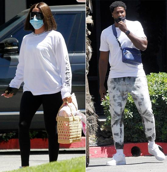Khloe Kardashian chia tay Tristan Thompson vào đầu năm ngoái sau khi chàng cầu thủ này bị phát hiện ôm hôn cô bạn thân của Kylie Jenner trong bữa tiệc tại nhà riêng. Một năm trước đó, Tristan cũng đã lộ ảnh vào khách sạn với một người mẫu nóng bỏng trong khi Khloe đang mang bầu sắp sinh con gái đầu lòng của họ.