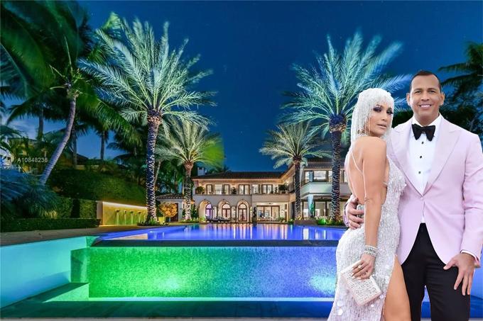 Bất động sản mới của J.Lo và Alex ở thành phố biển Miami trải dài trên diện tích gần 35 ha, có giá lên tới 40 triệu USD (927 tỷ đồng).