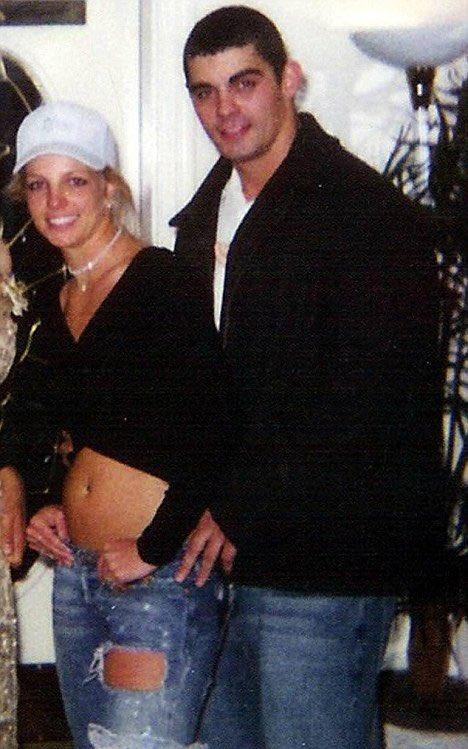 Britney và Jason thời trẻ.