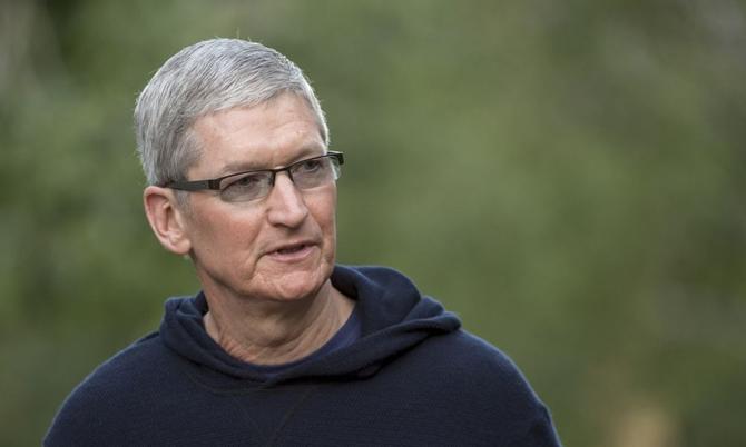 Tim Cook, CEO Apple. Ảnh: Bloomberg.