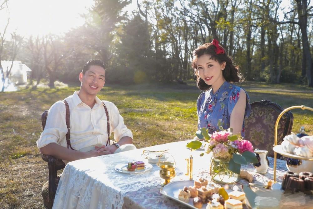 Lâm Chí Linh và ông xã người Nhật.