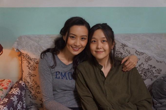 Diễn viên Trần Pháp Lai (trái) và đạo diễn Nguyên Viên.