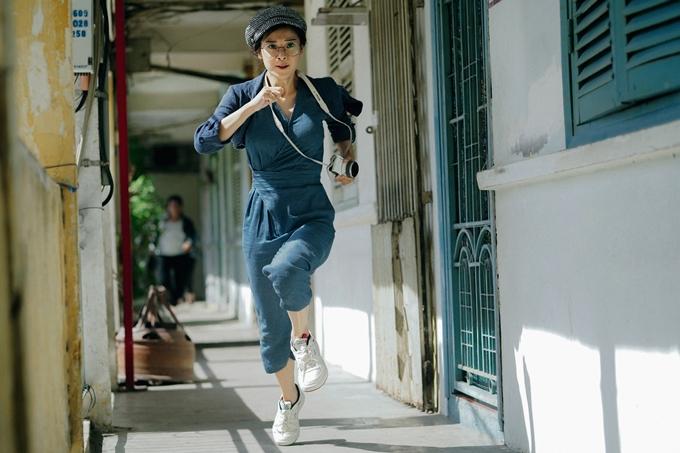 Hoàng Yến Chibi tạo hình mạnh mẽ, lần đầu làm đả nữ trên phim.
