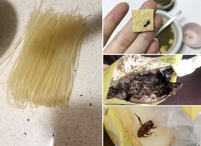 Bún ốc Lý Tử Thất dính nhiều lùm xùm về việc đồ ăn có côn trùng, không vệ sinh.