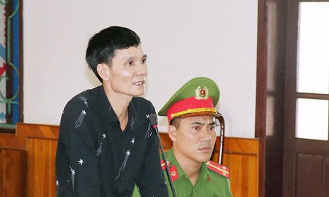 Bị cáo Dương tại tòa. Ảnh: Dương Vinh