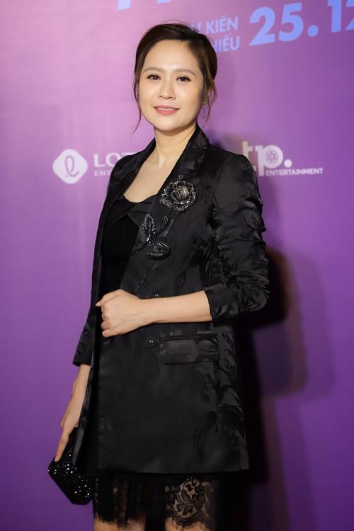 Ngoài vai trò đồng sản xuất, diễn viên Thanh Thúy hỗ trợ ông xã Đức Thịnh với một vai diễn khách mời trong phim.