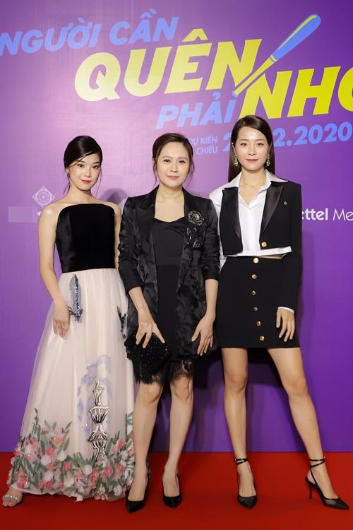 Hoàng Yến Chibi, Thanh Thúy và Karen Nguyễn.