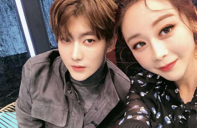Ham So Won và chồng kém 18 tuổi Jin Hua.
