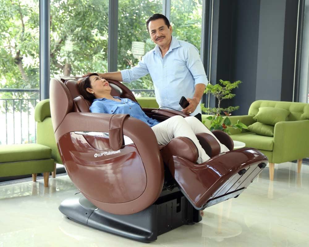 Ghế Massage - Món quà cho gia đình.