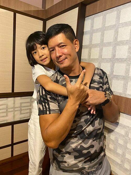 Con gái được ví như bản sao của diễn viên Bình Minh.
