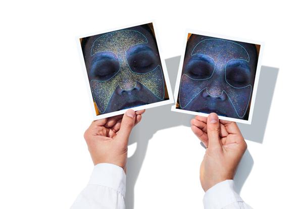 Kết quả kiểm nghiệm lâm sàng kem dưỡng của Murad cho thấy tình trạng bóng nhờn giảm đáng kể.