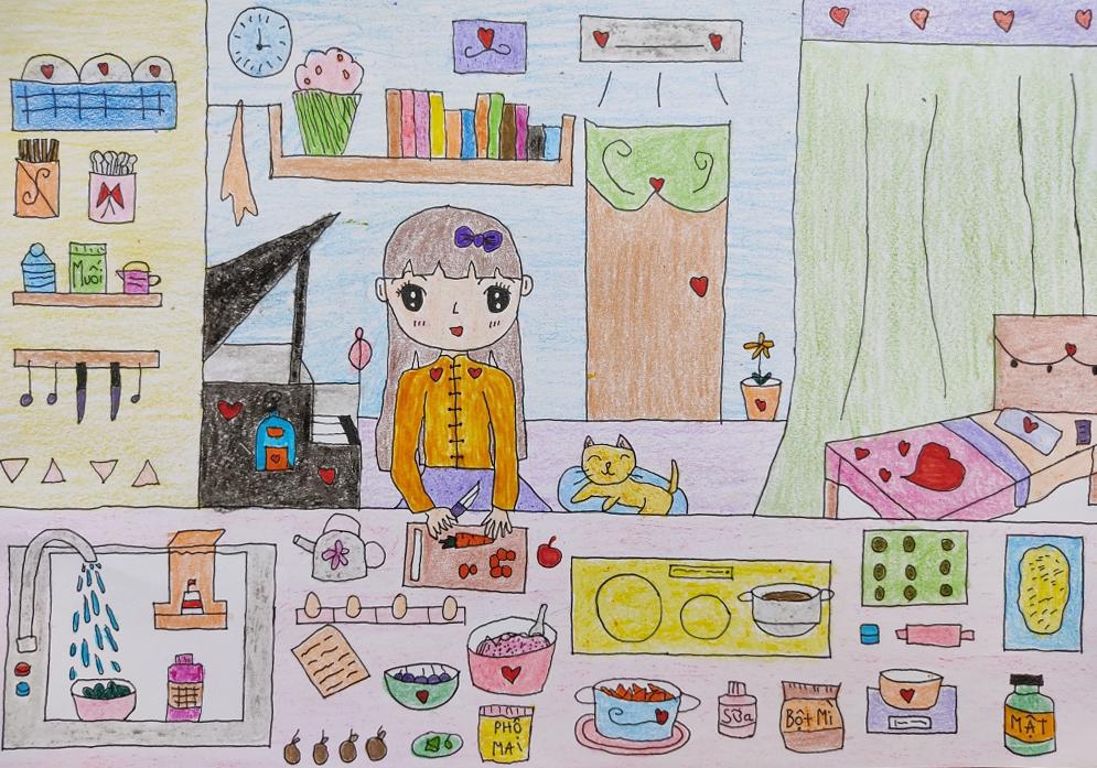 Độc giả nhận giải tháng cuộc thi 'Cả nhà cùng vẽ ước mơ'
