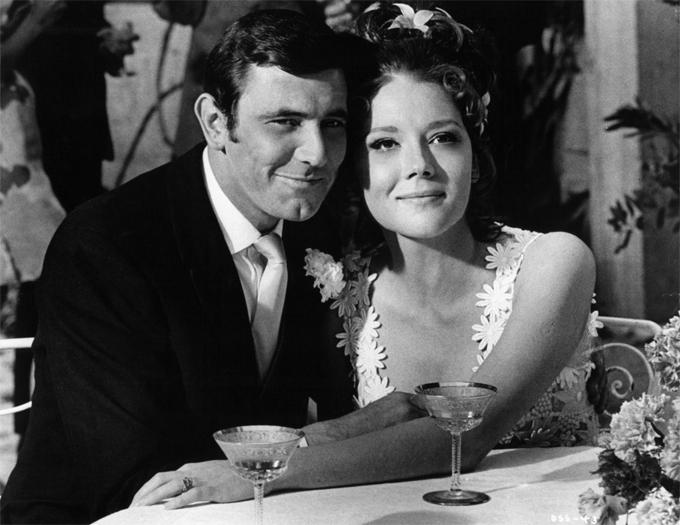 Diana vào vai vợ của James Bond trong On Her Majestys Secret Service.