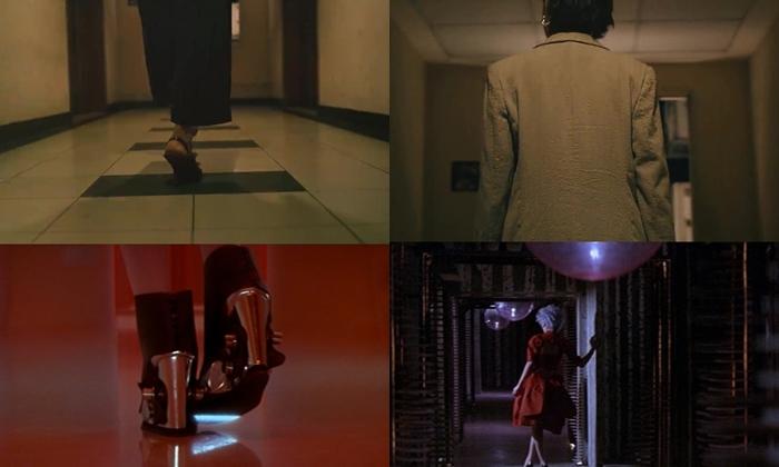 Chi tiết đặc tả đôi chân của Hồ Thu Anh đi dọc hành lang khách sạn khá giống với hình ảnh của dàn người đẹp Vương Phi, Chương Tử Di, Củng Lợi, Lưu Gia Linh trong phim 2046.