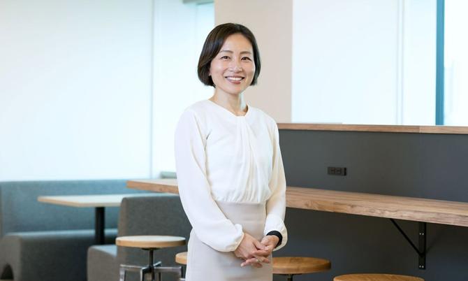Eiko Hashiba nhà đồng sáng lập  kiêm CEO hãng tư vấn VisasQ. Ảnh: VisasQ Inc.