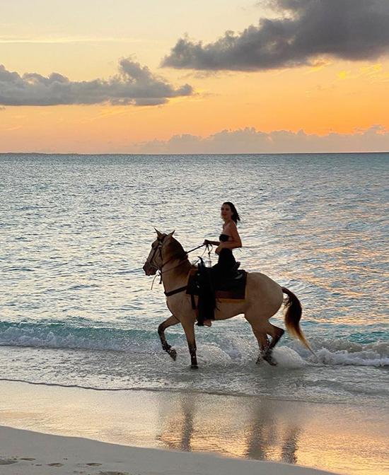 Các người đẹp mê chụp ảnh với ngựa - 4