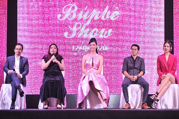 Bên cạnh show diễn Búp bê show, NTK Phương Hồ còn công bố thành lập một câu lạc bộ để phát triển tài năng cho các mẫu nhí.