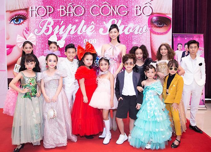 Hoa hậu Lương Thuỳ Linh tin rằng đây sẽ là cái nôi ươm mầm cho nhiều tài năng nhí.