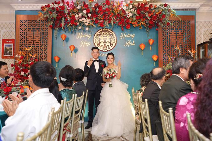 Ngày 5/8, cặp Hoàng Hiệp - Hoàng Anh đã tổ chức lễ thành hôn tại nhà ở Hà Nội với số lượng khách mời hạn chế