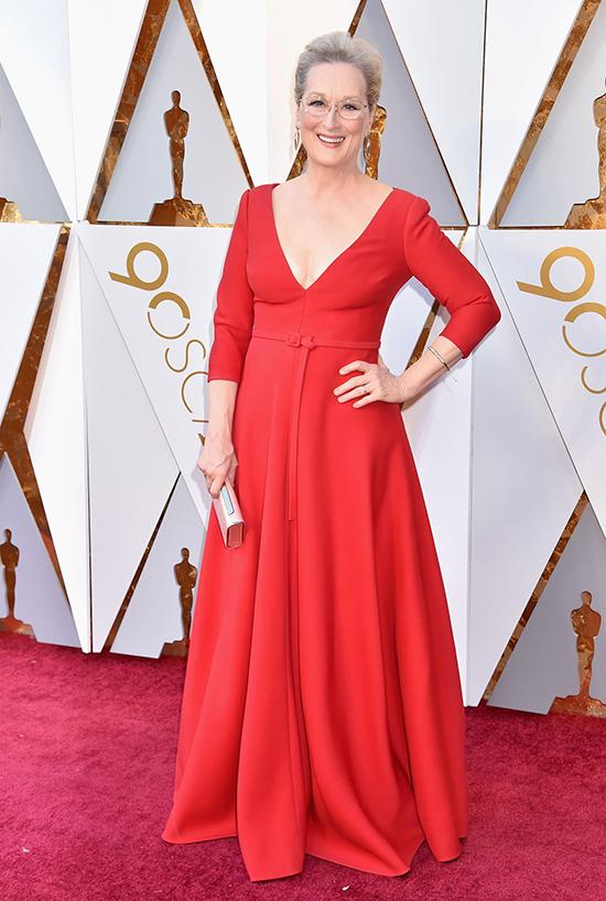 Meryl Streep at Oscars 2018