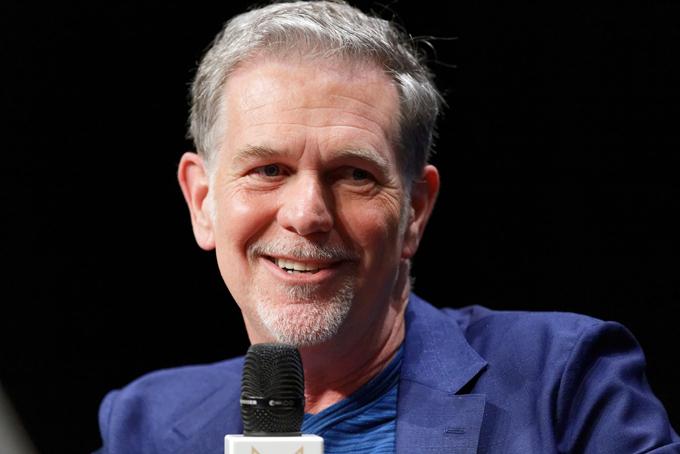 Reed Hastings, nhà đồng sáng lập và đồng CEO của Netflix. Ảnh: Medium.