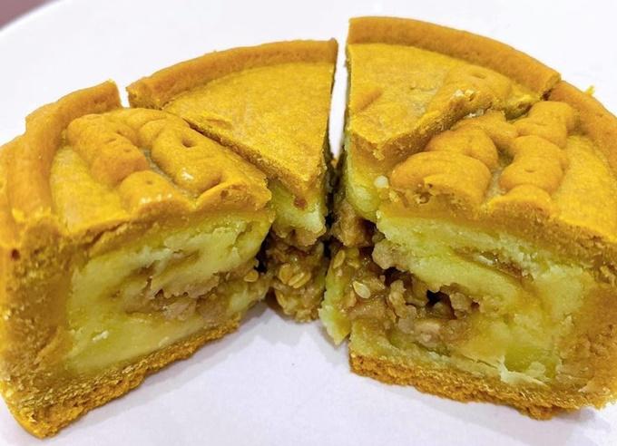 Bánh trung thu xôi xéo. Ảnh Chang Hi Food & Dessert.