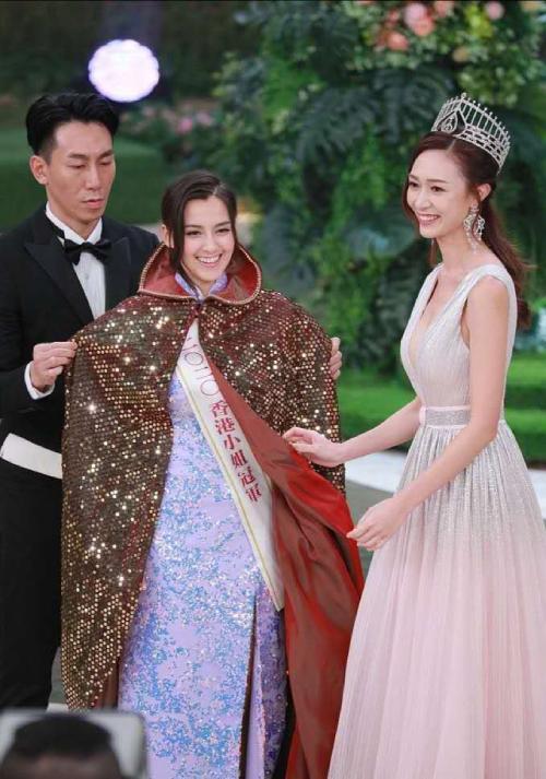 Tạ Gia Di khi đăng quang Hoa hậu.