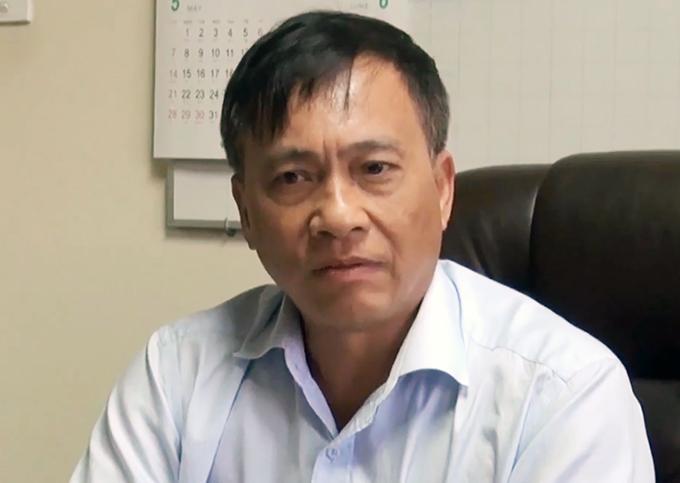 Ông Tuấn khi còn đương chức năm 2017. Ảnh: Thái Hà