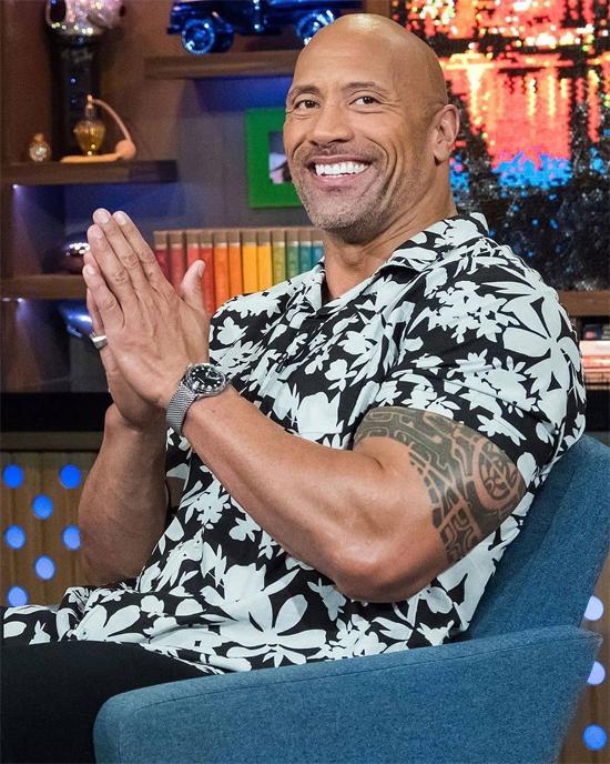 The Rock Dwayne Johnson.
