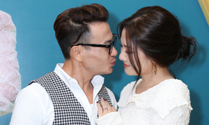 Ngọc Lan 'phê' khi đóng cảnh 'nóng' với Trương Thanh Long