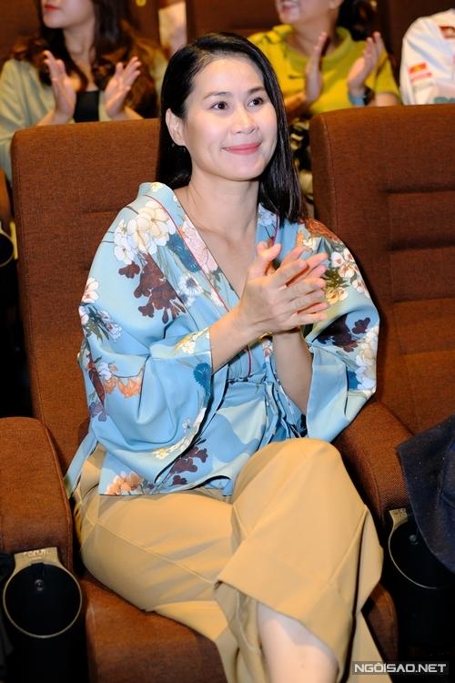 Đóng vai vợ của Cao Minh Đạt, Thân Thúy Hà cho biết đây là vai diễn nặng nhất trước giờ của cô.